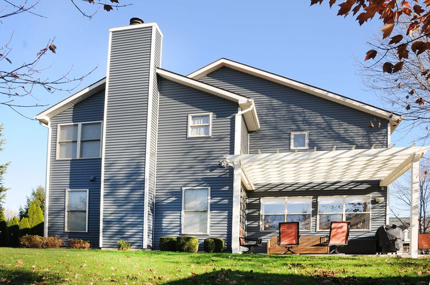 coors remodeling lafayette indiana huston home new exterior siding back
