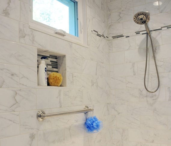 mills home gets a new marble bathroom remodel from coors lafayette indiana