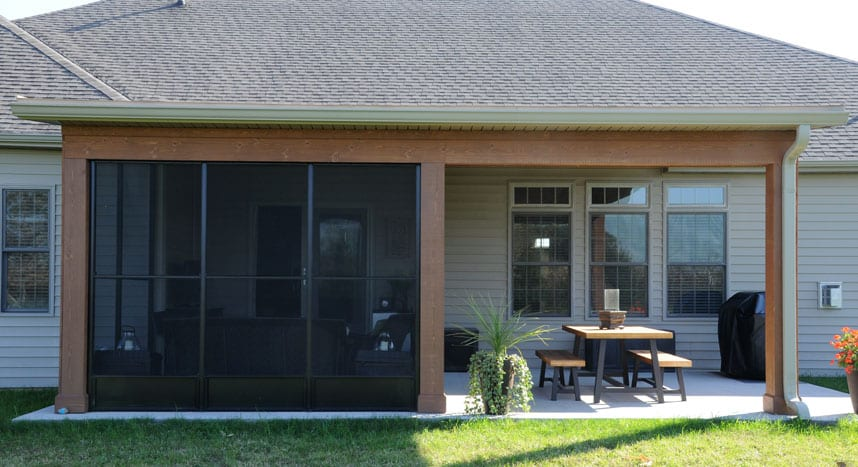 enclosed area created for the spence home by coors remodeling