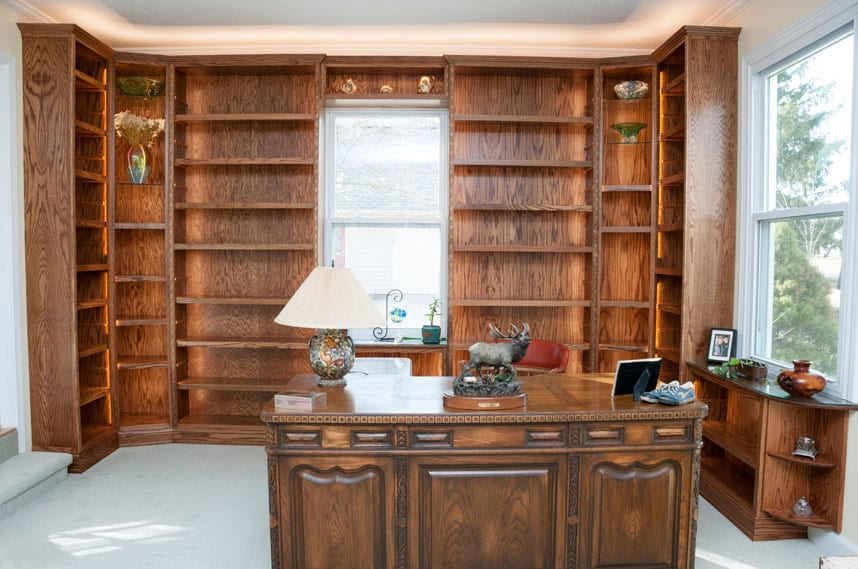 coors of lafayette indiana handcrafted bookcase remodel