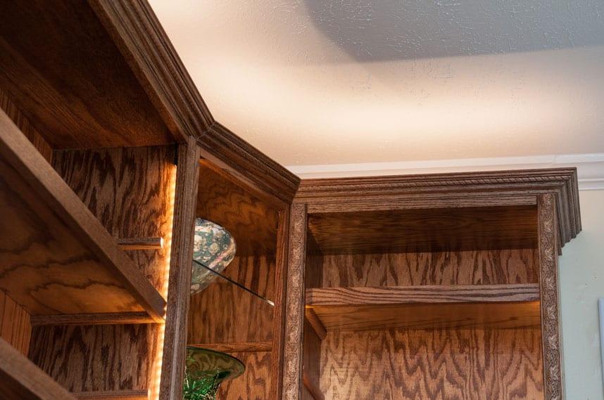 coors lafayette indiana stunning custom bookcase